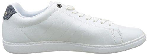 Le Coq Sportif Herren courtcraft S/Nylon Sneaker Weiß (Optical White)