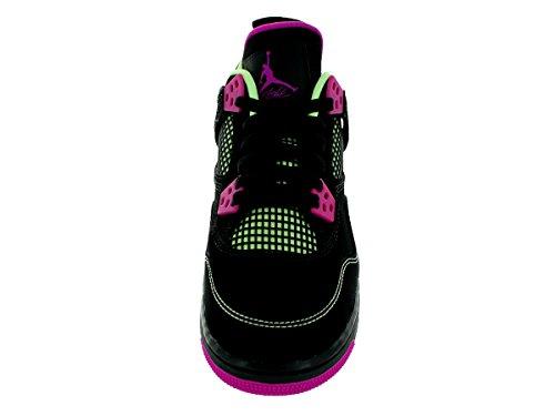 Nike Air Jordan 4 Retro 30th Gg, Scarpe da Corsa Donna black/fuschia flash-lqd lm-wht