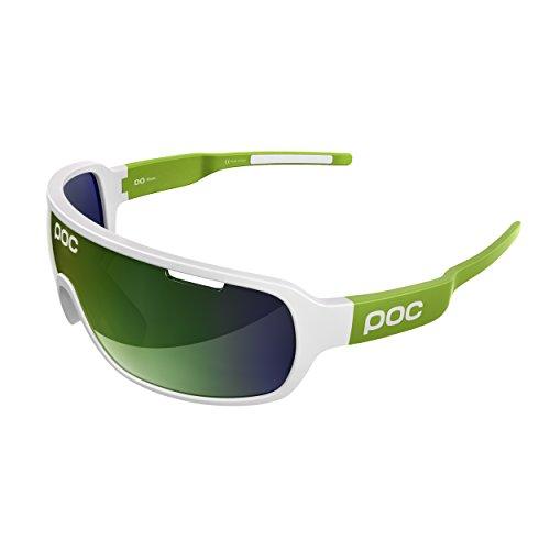 POC DO Blade Sonnenbrille, Unisex Erwachsene Einheitsgröße Grün, weiß