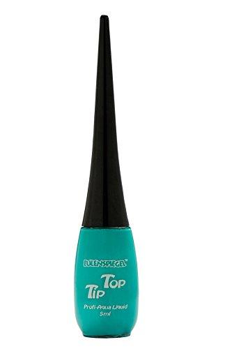 Eulenspiegel 674000 - Professional Liquid Aqua Schminke Tip Top - Flasche mit integriertem Pinsel - 5 ml - Pastellgrün