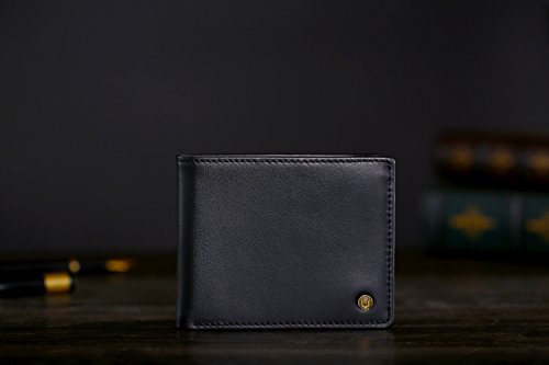 31u4RoIQu1L - Cronus & Rhea® | Luxury Money Clip Exclusive Leather (Ladon) | Card Holder - Card Case - Purse - Wallet | Real leather | With elegant gift box | Men - Women