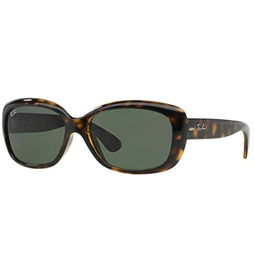 Ray-Ban Damen Sonnenbrille RB4101, Gr. One Size, Light Havana/Crystal grün