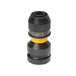 DeWalt DT7508-QZ Adaptador para Llaves de Vaso de Impacto de 1/2″ a 1/4″, 5.1 cm