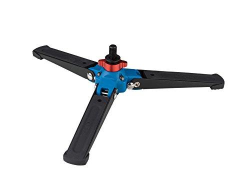 Benro A48TDS6 Einbeinstativ mit 3-Bein-Verriegelungsfuß und S6 Kopf, 4 Beinabschnitte, Twist Lock Beinauslöser (schwarz), Zubehör, schwarz, VT2
