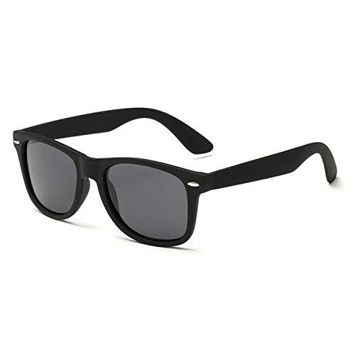 AOCCK Sonnenbrillen,Brillen, Brand Designer Fashion Luxury Polarized Men Women UV400 Cool Sunglasses Hot New Rays Outdoor Rivets Sun Glasses Top Black