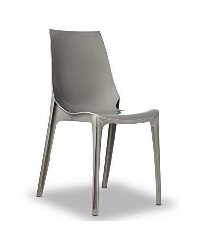 designement Chaise de Salon Polycarbonate Etienne