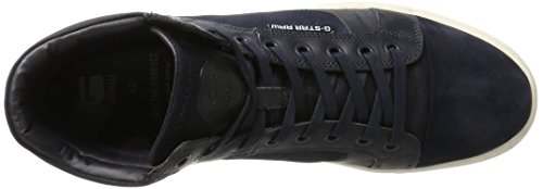 G-STAR RAW New Augur, Sneakers Hautes Homme Bleu (Dk Navy 881)