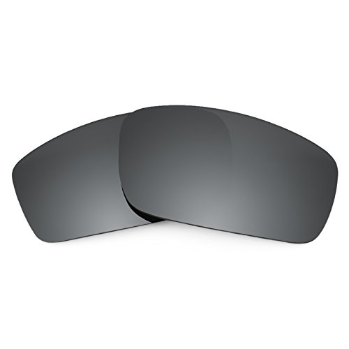 Revant Ersatzlinsen für Oakley Square Wire New (2006) Polarisierung Schwarz Chrom MirrorShield®