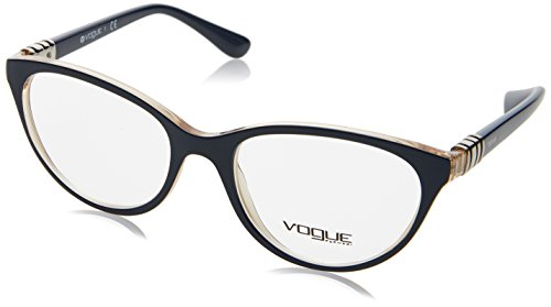 VOGUE Optical Frames Frame TOP BLUEE/SERIGRAPHY WITH DEMO LENS