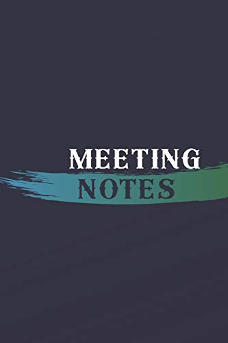 Meeting Notes: Lined Journal Softcover, Boss Goodbye Gift, Promotion Gift Ideas Perfect as a retirement /leaving gift ( Coworker Appreciation Gift Better than a card) (Card Ideas Promotion)