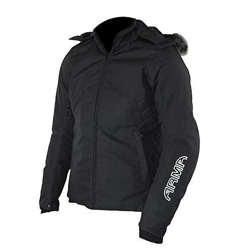Price comparison product image ARMR Liyla Ladies Motorcycle Parka Jacket - Black 12