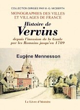 Vervins (Hist.Depuis l'Invasion de la Gaule par les Romains Jusqu'en 1789)