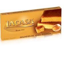 LaCasa - Turron Yema Tostada, 200 g