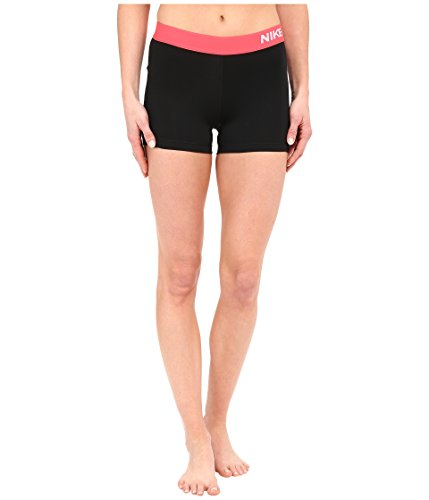 Nike Jungen Short Park Knit Lined, Black/Bright Crimson/White, X-Large -
