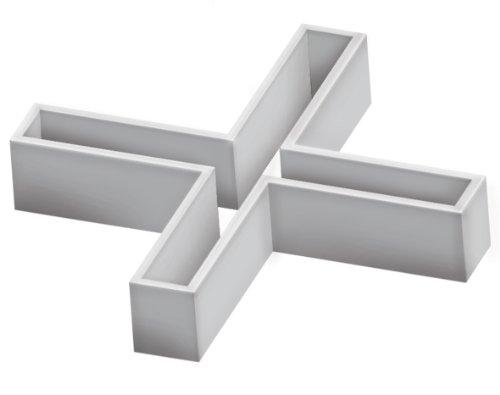 Fartools 116104Fugenkreuze Hohl 4mm Länge/3mm Höhe von 500Stück
