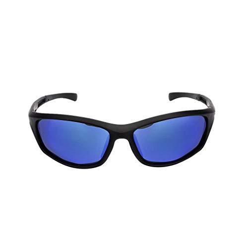 YULAND Sonnenbrille, Unisex Mode Retro Brille Sportbrille, Mode Polarisierte Sonnenbrille Im Freien Reitbrille Sport Sonnenbrille Erwachsene