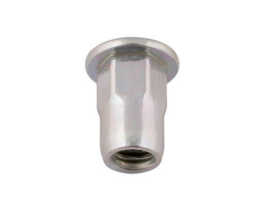 Connect 32804 Blindnietmutter, sechskant, 6 mm, 50 Stück