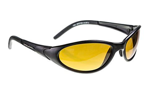 FISH-SPOTTER von Eyelevel | POLBRILLE aus sehr leichtem Kunststoff - Anglerbrille mit UV400 Schutz (UV A/B) | entspiegelt Wasserflächen | bruchsichere Kunststoffgläser | Alltagsbrille oder Autobrille