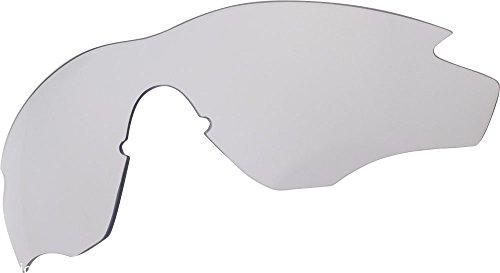 Zero Ersatz Linsen für Oakley M2Frame Sonnenbrille Clear Grau Radsportler