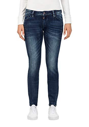 Timezone Damen Tight Aleena Skinny Jeans, Blau (Blue Patriot Wash 3624), W30/L30 - Patriot Denim