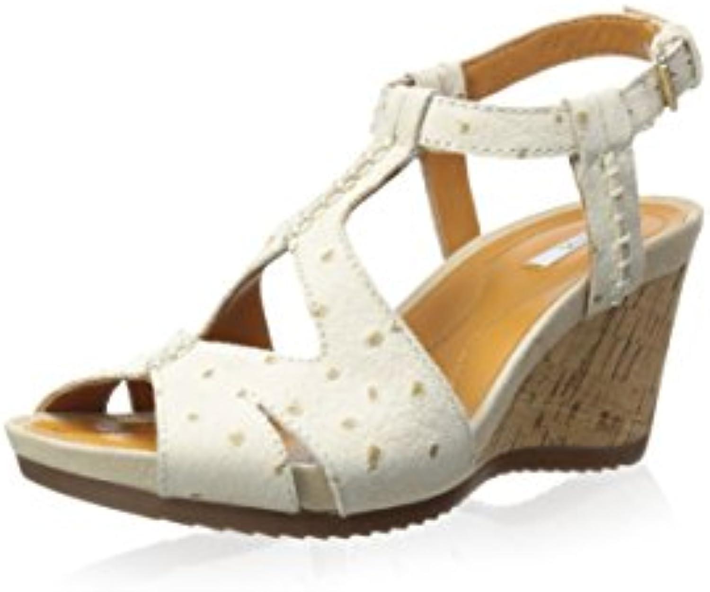 Geox   Damen Sandale 2018 Letztes Modell  Mode Schuhe Billig Online-Verkauf