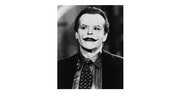 JACK NICHOLSON AS JOKER/JACK NAPIER FROM BATMAN #1 25x20cm STANDARD Photo cinématographique en noir et blanc