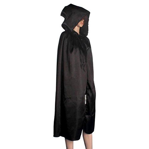 D'halloween Kostüm Robe (TPulling Kapuzenmantel Wicca Kap Schal Robe Mittelalterliche Halloween Party)