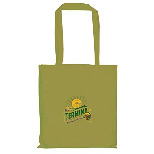 rom Termina - Stoffbeutel, oliv (Legend Of Zelda Twilight Princess Link Kostüm)
