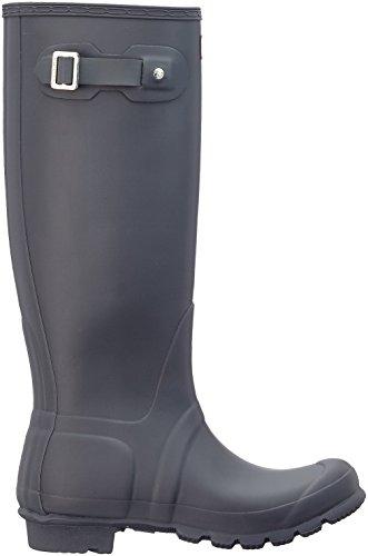 Hunter Wellington Boots, Stivali di Gomma Donna Grigio (Grey/dsl)