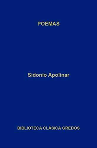 Poemas (Biblioteca Clásica Gredos nº 337) eBook: Apolinar, Sidonio ...