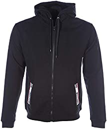 Parajumpers Jayden Quilted Fleece Jacket in Black