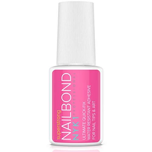 NYK1 - Adhesivo pegamento uñas superfuerte, pincel
