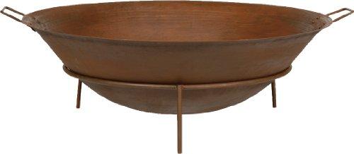 SIENA GARDEN - Feuerschale Rusty Durchmesser: 80 cm mit Griffen