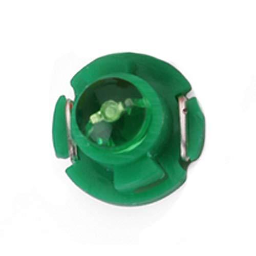 Naisidier 10 pcs 12 V T4.2 COB 1smd LED Auto Voiture Ampoules Tableau de Bord Jauge de Dash côté Lampe Vert Automotive Accessoires Auto