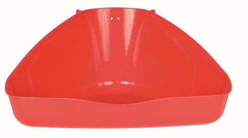Trixie 62552 Ecktoilette, Kleintierkäfige, 45 x 21 x 30 cm, farblich unsortiert