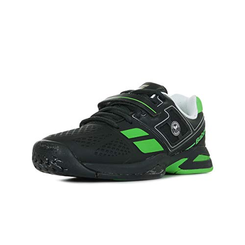 BABOLAT Propulse BPM All Court Wimbledon Scarpa da Tennis Junior, Nero/Verde, 31