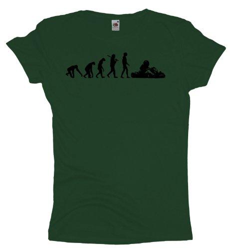 Ma2ca - Evolution - Gokart Girlie T-Shirt Bottle Green