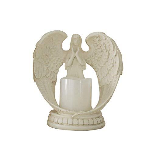 iBellete® Wings Light Angel LED-Kerzen-Dekorationslampe für die Hochzeit von Engelsfiguren (Gebet Die Hochzeit)