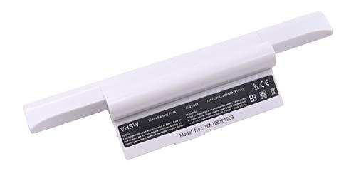 vhbw Batterie LI-ION 11000mAh 7.4V Blanc Compatible pour ASUS EEE PC 901/904 / 904HA / 904hd / 1000 / 1000H / 1000HA / 1000HD / 1000HE/ 1000HA etc.