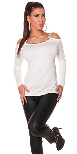 In-Stylefashion - Pull - Femme blanc ivoire Ivoire