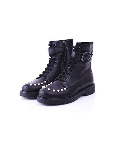 Twin Set, Damen Stiefel & Stiefeletten Schwarz Schwarz No, Schwarz - Schwarz - Größe: 37 EU