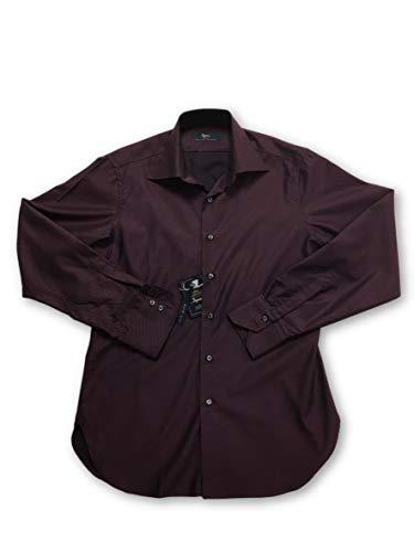 Ingram cottonstir shirt in purple 15 rrp £85.00