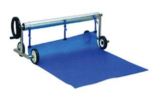 Vagner Aufrollvorrichtung Profi mit Füßen auf Rädern für Solarfolie 2,40-4,40m