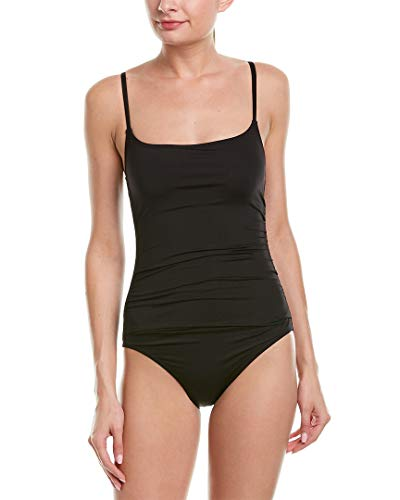 Anne Cole Black Shirred Lingerie Maillot - Anne Cole Bademode