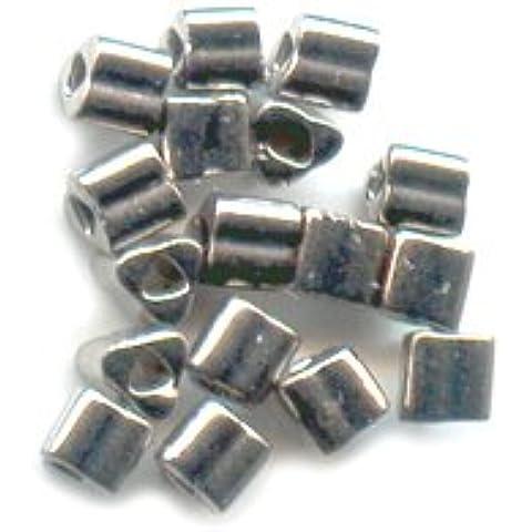 Triangoli Toho 11/0 TG711 - Nickel Plated Silver