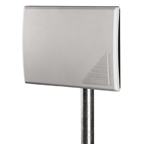 """Hama DVB-T/DVB-T2/DAB/DAB+ Antenne """"Outdoor"""" TV/Radio, 27 dB Verstärkung, für innen und außen, digital und analog, 5,5 m Kabel"""
