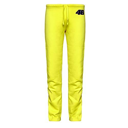 Valentino Rossi Damen Gelb Gym Trainingsanzug Jog Pants Gelb gelb M
