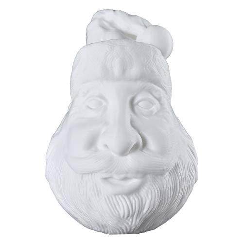Lámpara de mesa 3D con diseño de avatar de Papá Noel, luz...