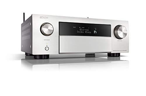 Denon AVR-X4500H 9.2 AV-Receiver WLAN Dolby Atmos Auro-3D ready HEOS, silber