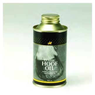 LINCOLN Classic Hoof Oil with Brush - 500ml LINCOLN Classic Hoof Oil with Brush – 500ml 31u65MJA9uL